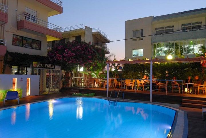 Agla Hotel in Rhodes Town, Rhodes, Greek Islands