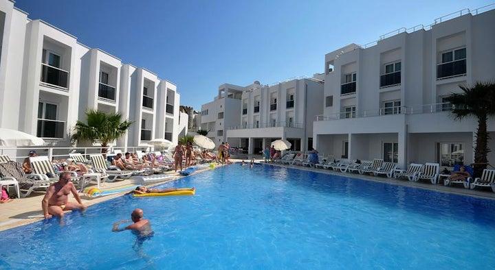 Shark Club Hotel in Gumbet, Aegean Coast, Turkey