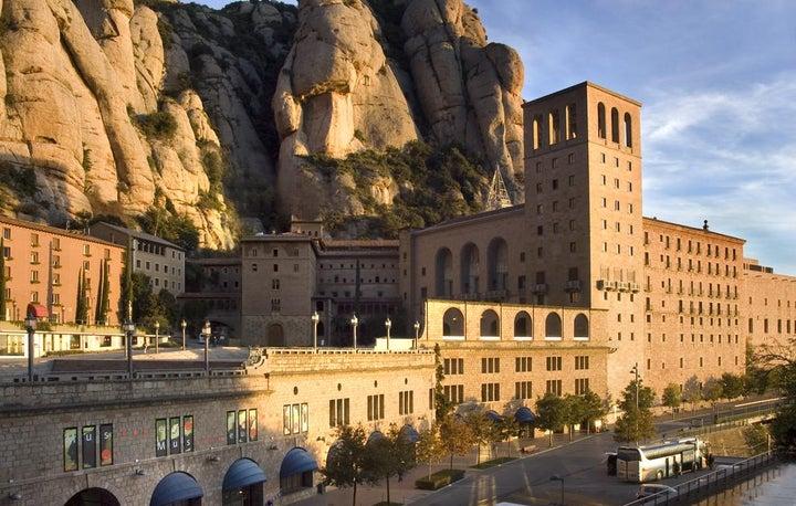 Abat Cisneros in Montserrat, Costa Brava, Spain