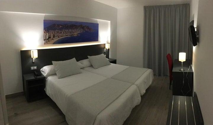 Los Alamos Hotel in Benidorm, Costa Blanca, Spain