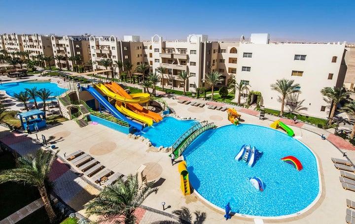 Nubia Aqua Beach Resort in Hurghada, Red Sea, Egypt
