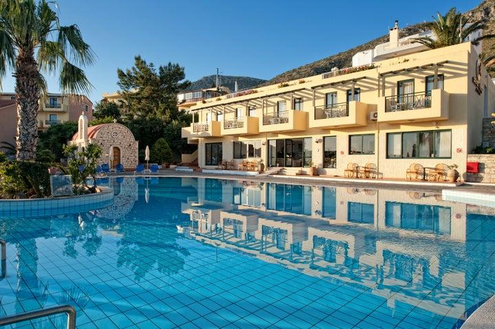 Asterias Village Hotel in Hersonissos, Crete, Greek Islands