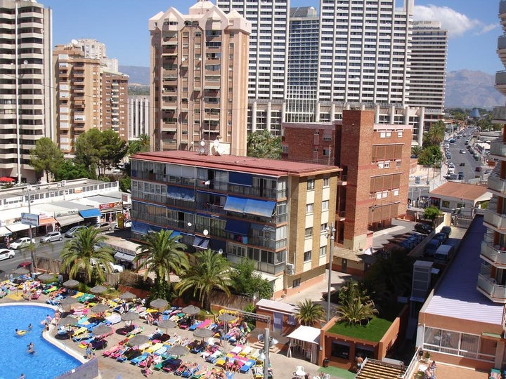 Primavera Hotel in Benidorm, Costa Blanca, Spain