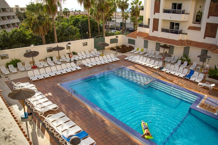 Oroblanco Apartments in Playa de las Americas, Tenerife, Canary Islands