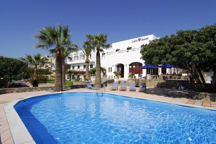 Lato Hotel in Aghios Nikolaos, Crete, Greek Islands