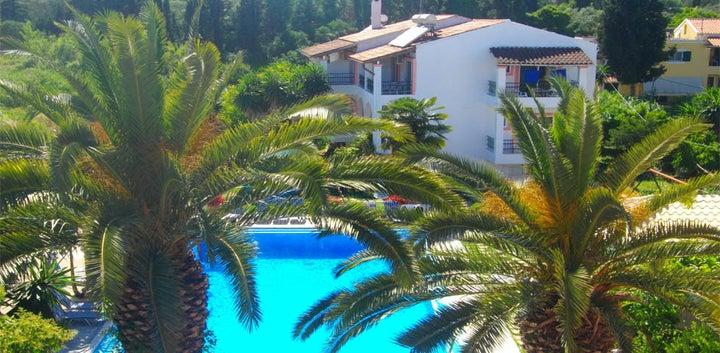 Angela Corfu Hotel in Gouvia, Corfu, Greek Islands