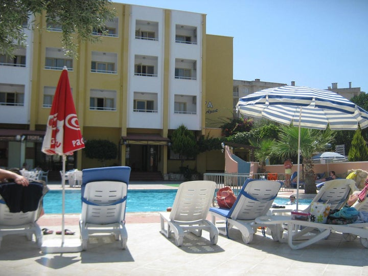 Oya Apartments Hotel in Kusadasi, Aegean Coast, Turkey