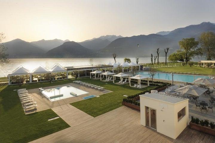 Seven Park Hotel in Como, Lake Como, Italy