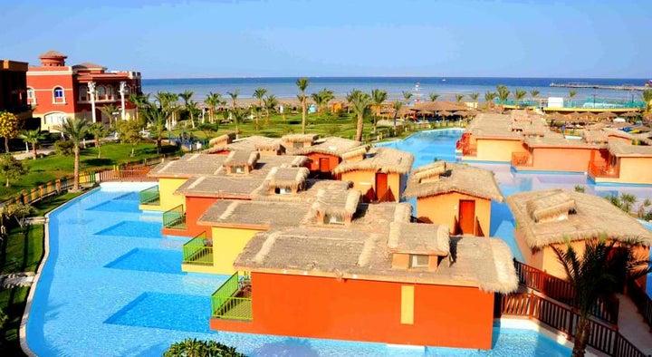 Titanic Palace & Aqua Park in Hurghada, Red Sea, Egypt