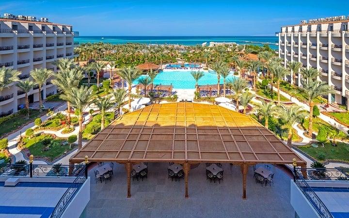 Hawaii Le Jardin Aqua Park in Hurghada, Red Sea, Egypt