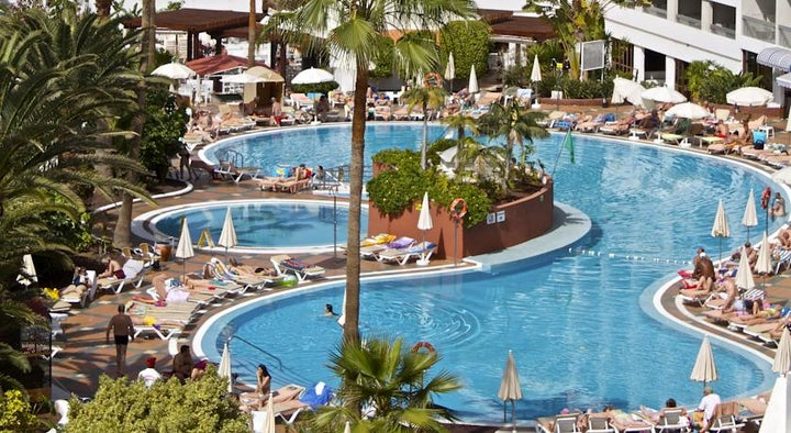 Palm Beach Tenerife in Playa de las Americas, Tenerife, Canary Islands