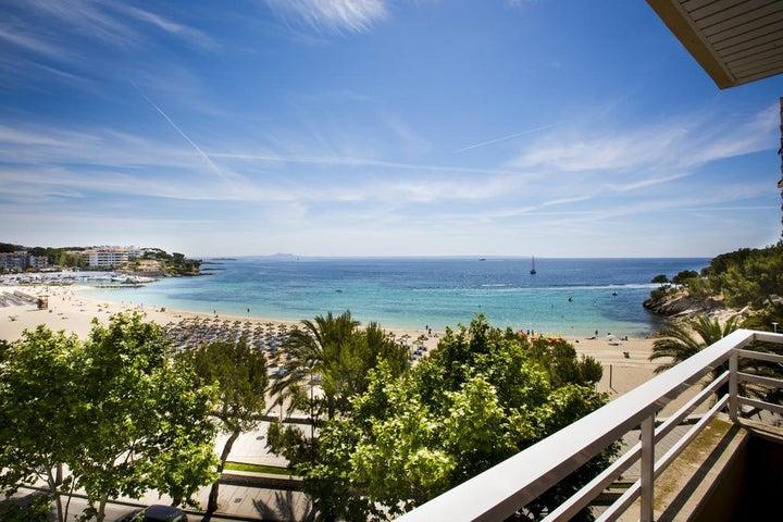 Agua Beach in Palma Nova, Majorca, Balearic Islands