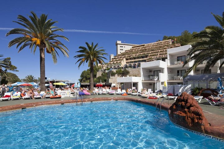 Cartago Hotel Club in Puerto San Miguel, Ibiza, Balearic Islands