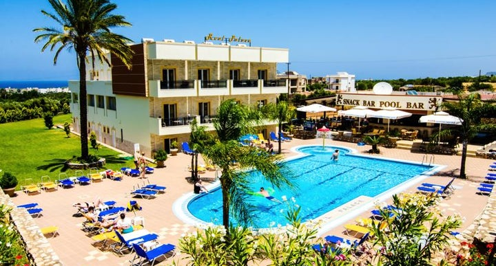 Maria Rousse Apartments In Crete Greek Islands Malia