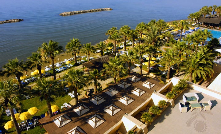 Palm Beach Hotel & Bungalows in Larnaca, Cyprus