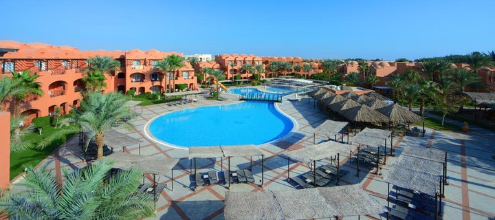 Jaz Makadi Oasis Resort in Hurghada, Red Sea, Egypt