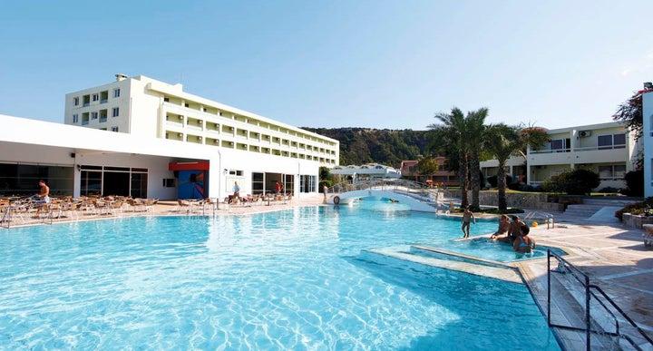 Avra Beach Hotel Ixia Rhodes Greece
