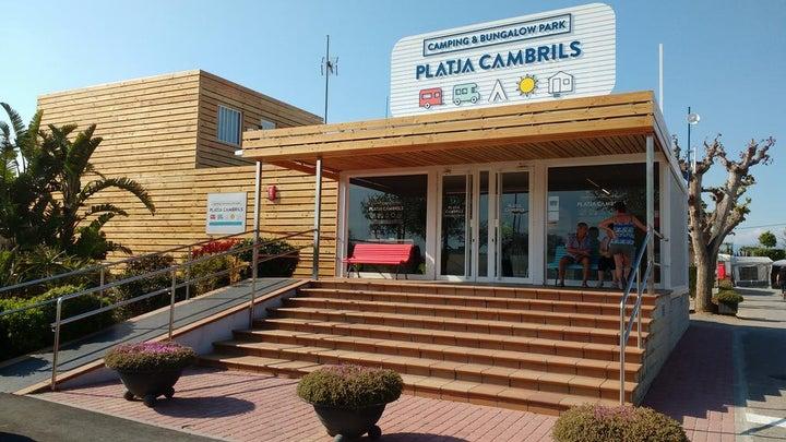 Camping Platja Cambrils in Cambrils, Costa Dorada, Spain
