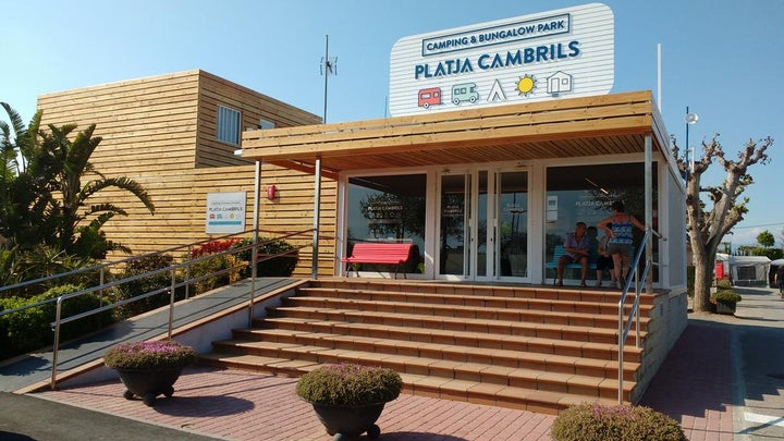 Platja Cambrils in Cambrils, Costa Dorada, Spain
