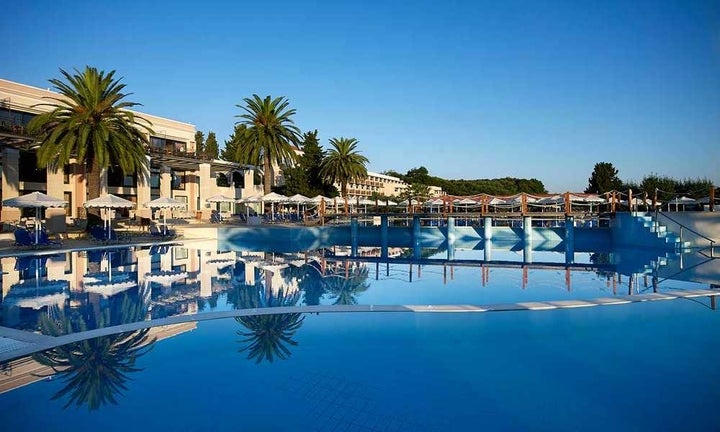 Roda Beach Resort & Spa in Roda, Corfu, Greek Islands