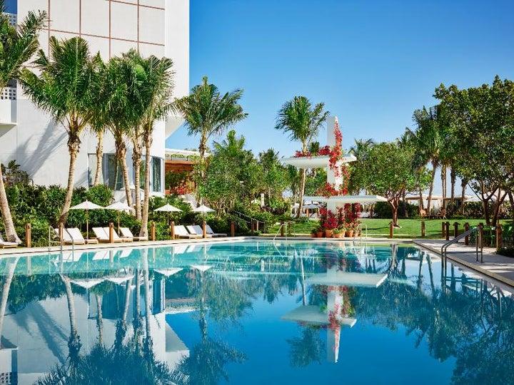 The Miami Beach Edition in Miami Beach, Florida, USA