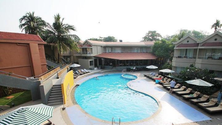 Whispering Palms Beach Resort in Candolim, Goa, India