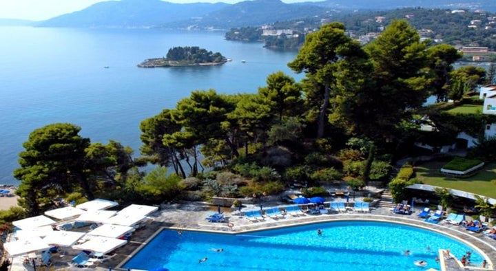 Corfu Holiday Palace in Kanoni, Corfu, Greek Islands