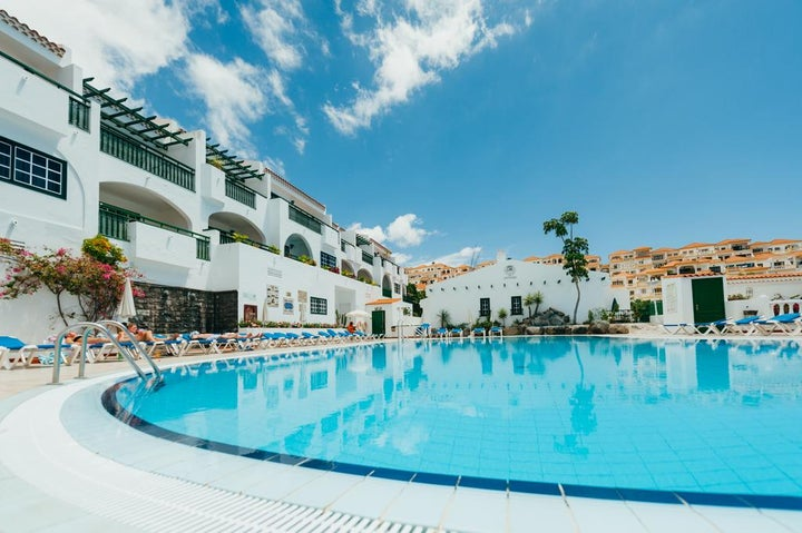 Neptuno Aparthotel in Costa Adeje, Tenerife, Canary Islands