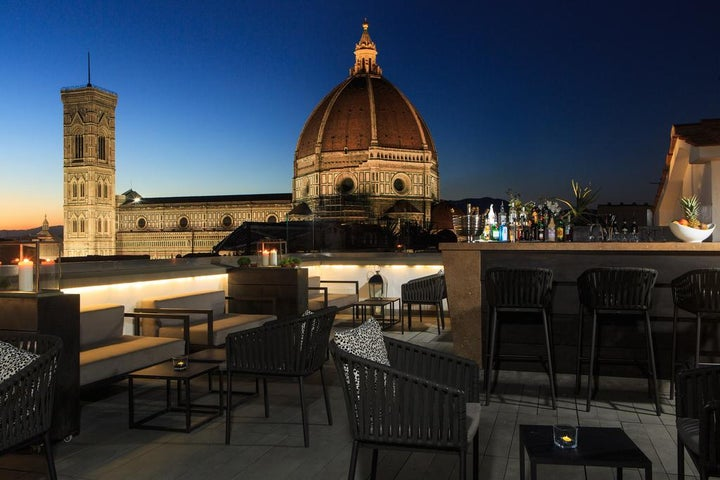 Grand Hotel Cavour in Florence, Tuscany, Italy
