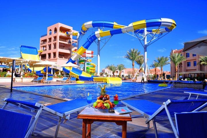 Albatros Aqua Park Ex Garden in Hurghada, Red Sea, Egypt