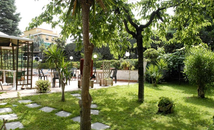 Aurora Garden in Rome, Italy