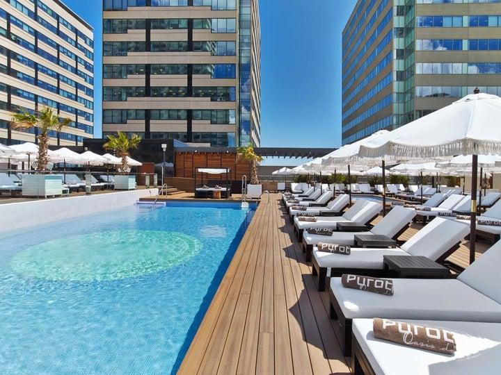 Hilton Diagonal Mar Barcelona in Barcelona, Costa Brava, Spain