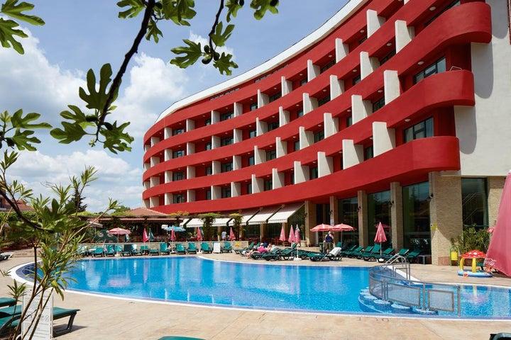 Hotel Mena Palace in Sunny Beach, Bulgaria