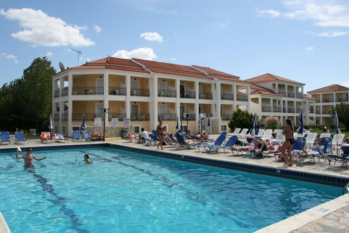 Village Inn Studios and Apartments in Laganas, Zante, Greek Islands