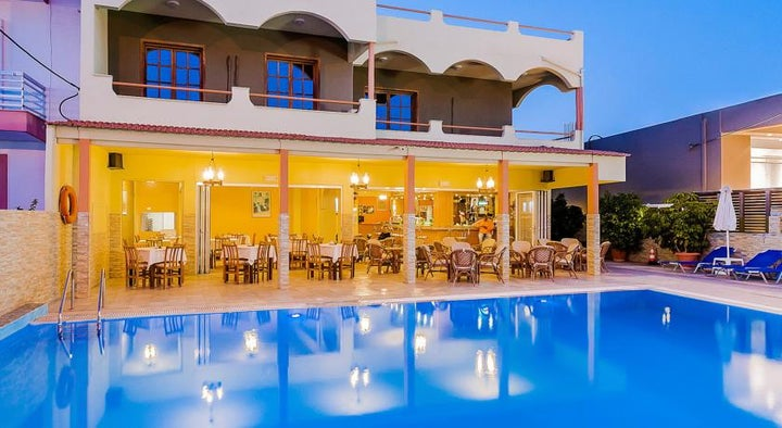 Esmeralda Aparthotel in Kremasti, Rhodes, Greek Islands