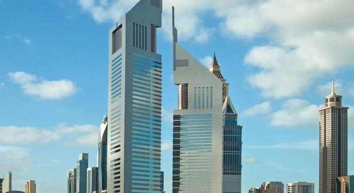 Jumeirah Emirates Towers in Dubai City, Dubai, United Arab Emirates