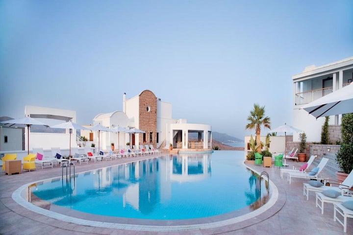 Doria Hotel Bodrum in Bitez, Aegean Coast, Turkey