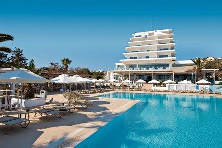 Vrissiana Beach Hotel in Protaras, Cyprus