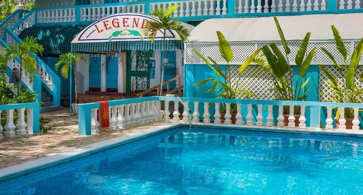 Legends Beach Resort In Negril Jamaica