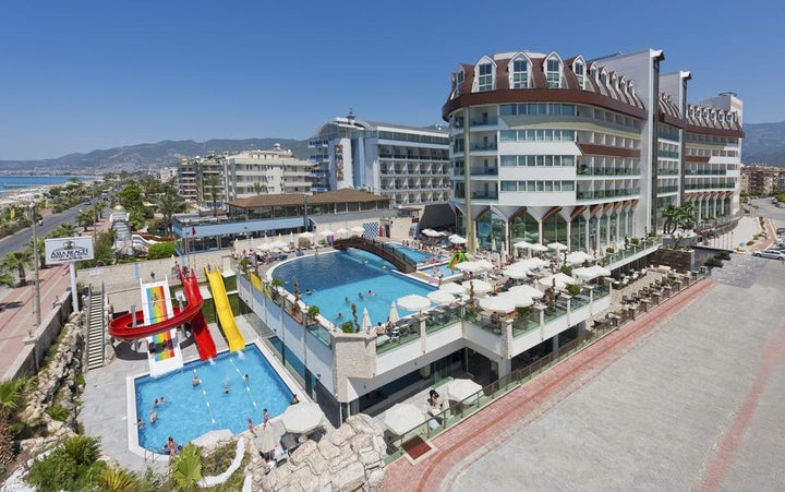 Asia Beach Resort Hotel And Spa in Alanya, Antalya, Turkey