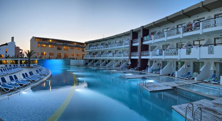 Ephesia Holiday Beach Club in Kusadasi, Aegean Coast, Turkey
