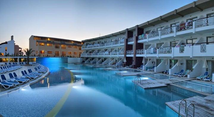 Ephesia Holiday Beach Club in Kusadasi, Aegean Coast, Turkey