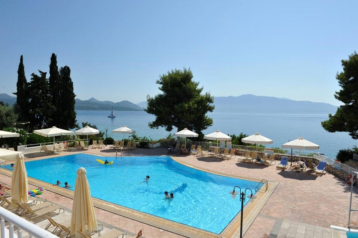 Porto Galini Seaside Resort & Spa in Nikiana, Lefkas, Greek Islands