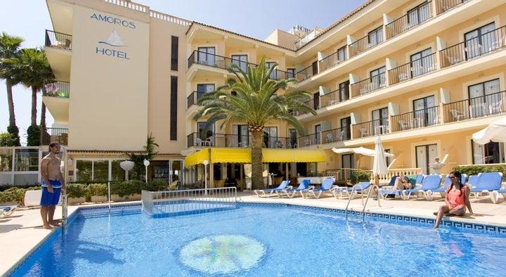 Amoros Hotel in Cala Ratjada, Majorca, Balearic Islands
