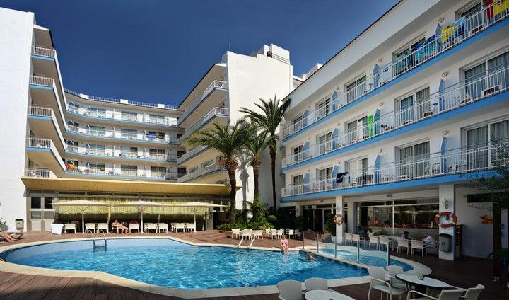 Miami Hotel in Calella, Costa Brava, Spain