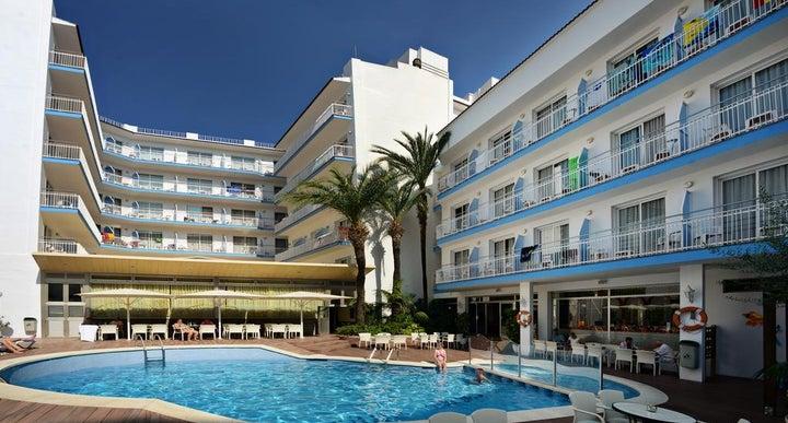 Miami Hotel In Calella Costa Brava Spain
