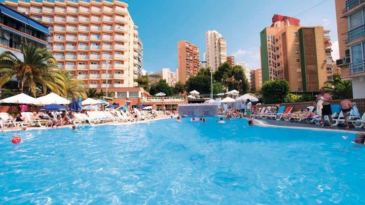 Med Playa Hotel Regente in Benidorm, Costa Blanca, Spain