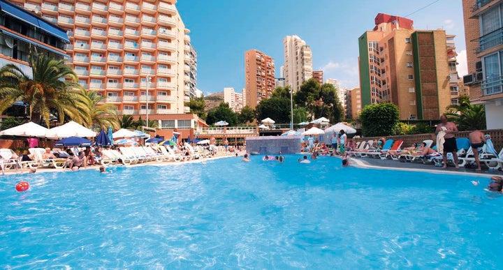 Med playa hotel regente in benidorm spain holidays from 334pp loveholidays for Swimming pool repairs costa blanca