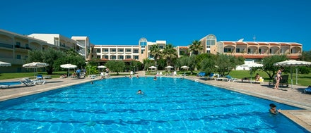 Marianna Palace Hotel in Kolymbia, Rhodes, Greek Islands