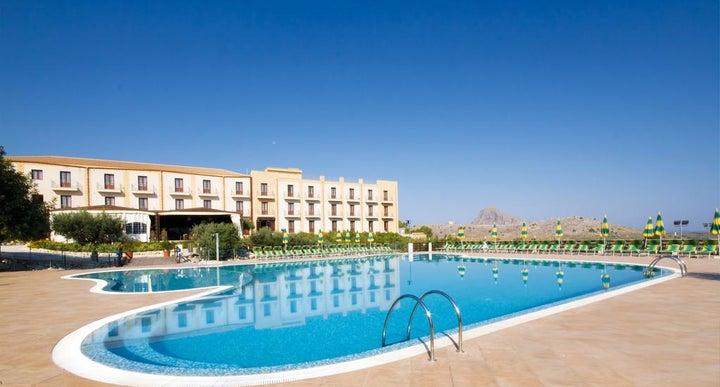 Villa Zina Park Hotel In Trapani Sicily Italy